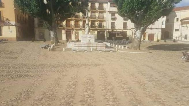 León.- Plaza del Grano remodelada