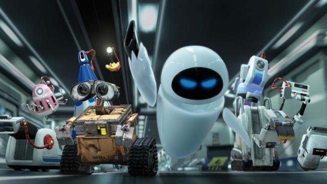 Escena de la película 'Wall-E'.