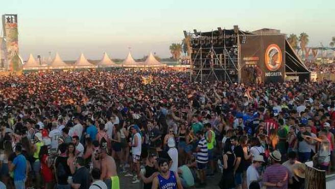 Instantánea del Medusa Sunbeach Festival.
