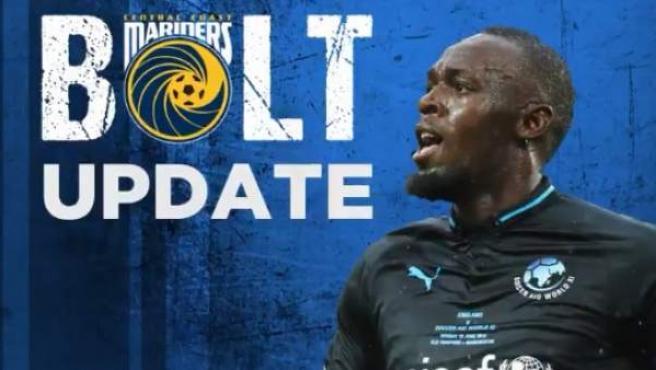 El CC Mariners le da la bienvenida a Usain Bolt