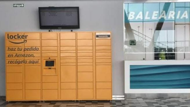 Amazon Locker en Baleària Port