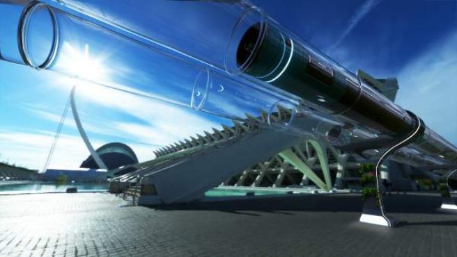 Hyperloop, gracias a la ausencia de fricción, podría superar los 1.000 kilómetros por hora.