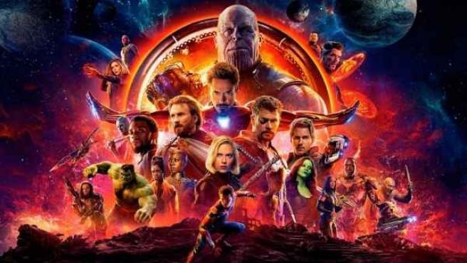 Cartel de la película 'Vengadores: Infinity War'.