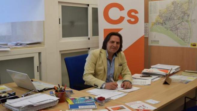 El concejal de Cs Rafael Burgos