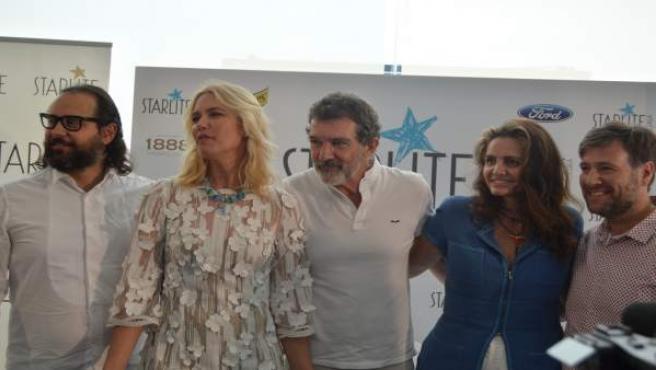 Antonio Banderas en la presentación de la gala Starlite