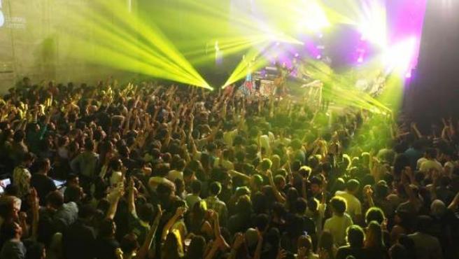 Concierto de rock en Santander.