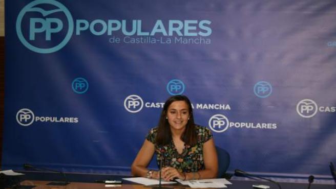 Gpp Clm (Cortes De Voz Y Fotografía) Roldán En Rueda De Prensa En Las Cortes Reg
