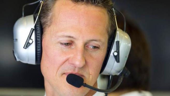 Imagen de archivo del piloto alemán Michael Schumacher.