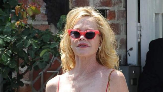 Melanie Griffith, hace unos meses.