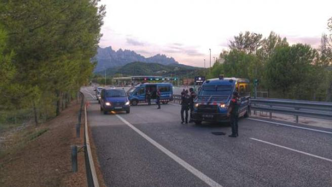Mossos control atentados Barcelona y Cambrils (ARCHIVO)