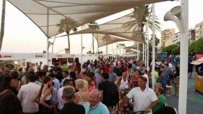 Festival jamón popi Estepona ibéricos certamen mundial visitantes ocio