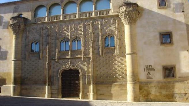 Imagen de archivo de la sede Antonio Machado de la UNIA de Baeza (Jaén)