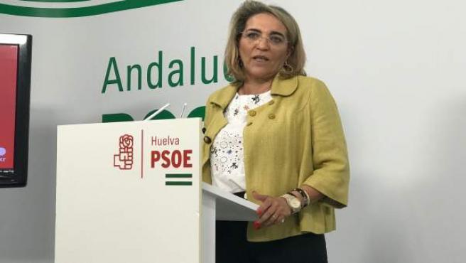 La diputada socialista por Huelva, Josefa González Bayo.