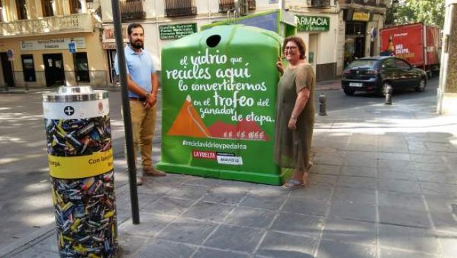 Presentación de campaña sobre reciclaje de cara a La Vuelta 2018