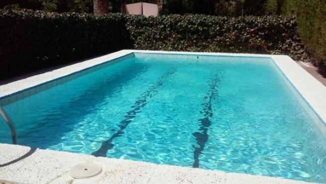 Imagen de una piscina privada.