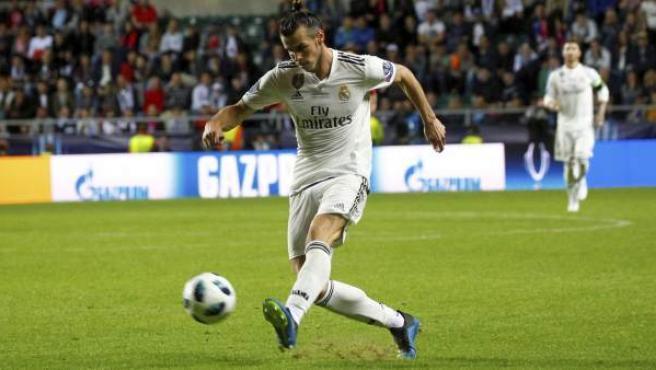 Gareth Bale, delantero del Real Madrid.