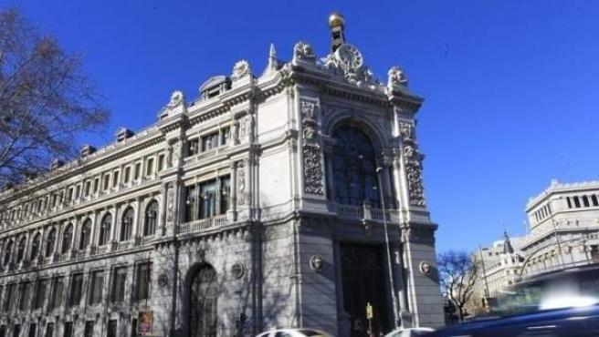 Una imagen de archivo de la sede del Banco de España, en Madrid.