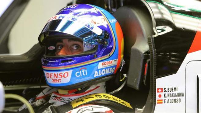Fernando Alonso, en las 6 Horas de Silverstone