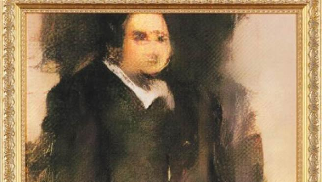 'El Retrato de Edmond de Bellamy', el cuadro elaborado a partir de un algoritmo.