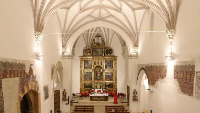 Nueva iluminación de la Iglesia de San Miguel de Tarazona (Zaragoza).