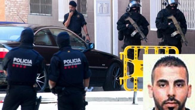 Abdelouahab Taib, el atacante que fue abatido por los Mossos en Cornellà.