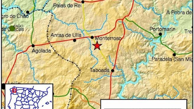 Terremoto en Lugo.