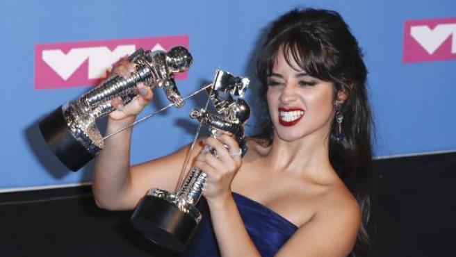 Camila Cabello, en la gala de los MTV Video Award.