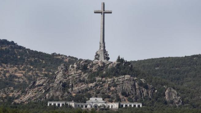 Vista general del monumento del Valle de los Caídos.
