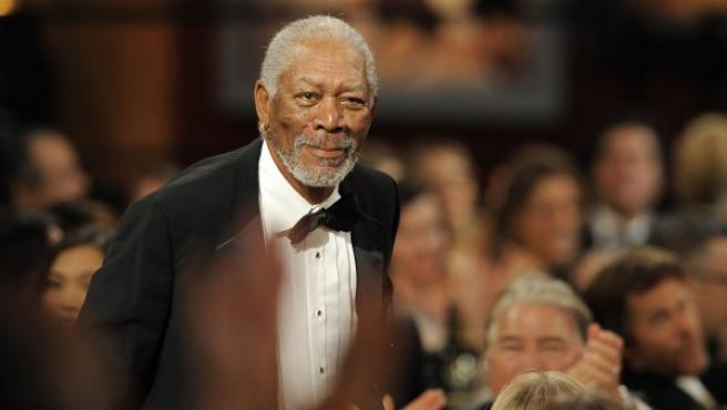 El actor Morgan Freeman en una entrega de premios de 2012.