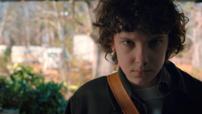 Eleven, de 'Strangers Things'.