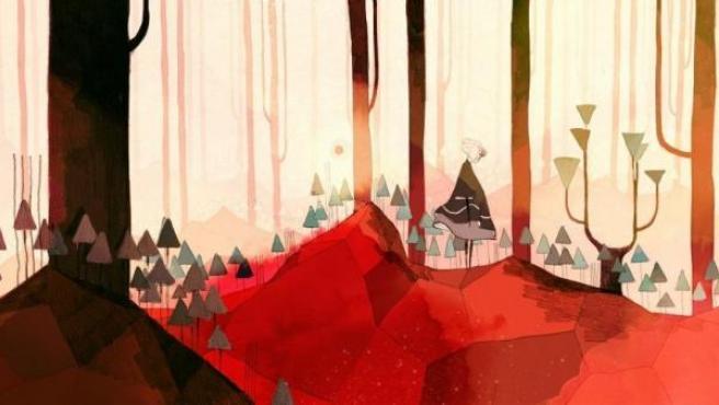 El videojuego español 'Gris', ilustrado por Conrad Roset.