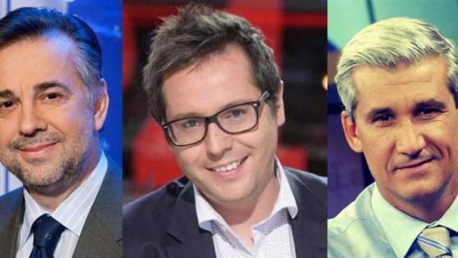 Jenaro Castro, Sergio Martín y Víctor Arribas, algunos de los destituidos en RTVE.