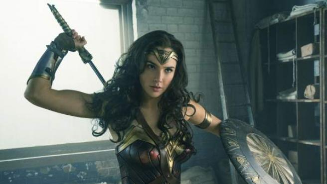 Fotograma de la película 'Wonder Woman'.