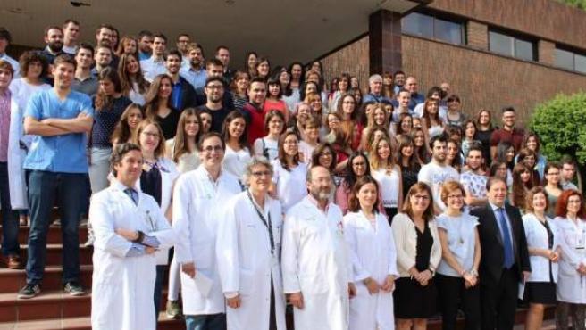 Medicos residentes en Castilla-La Mancha.