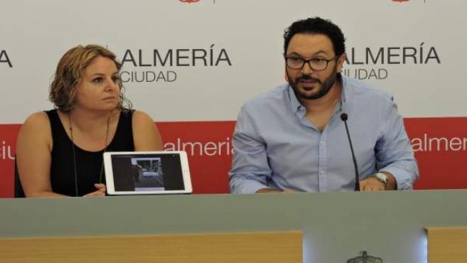 Carmen Núñez y Cristóbal Díaz