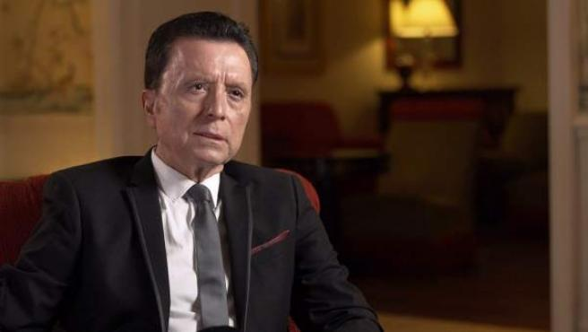 José Ortega Cano durante el programa sobre Rocío Jurado de 'Lazos de Sangre'.