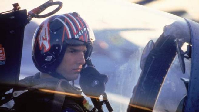 Tom Cruise en una escena de 'Top Gun 2'.