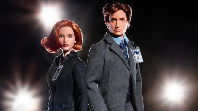 'Expediente X': Mulder y Scully por fin tienen muñecas Barbie a su altura