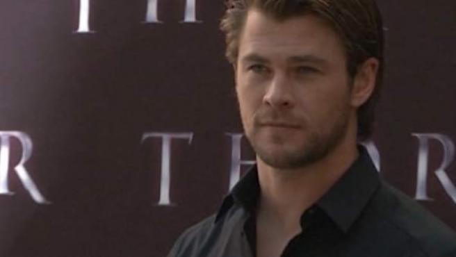 El actor Chris Hemsworth, que interpreta a Thor en las películas de Marvel.
