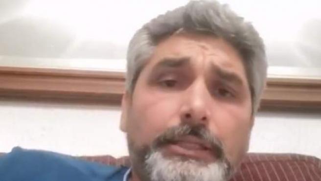 Juan José Cortés, en su comunicado a través de Facebook.