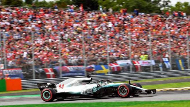 El británico Lewis Hamilton (Mercedes) se impuso en el GP de Italia, territorio de Ferrari.
