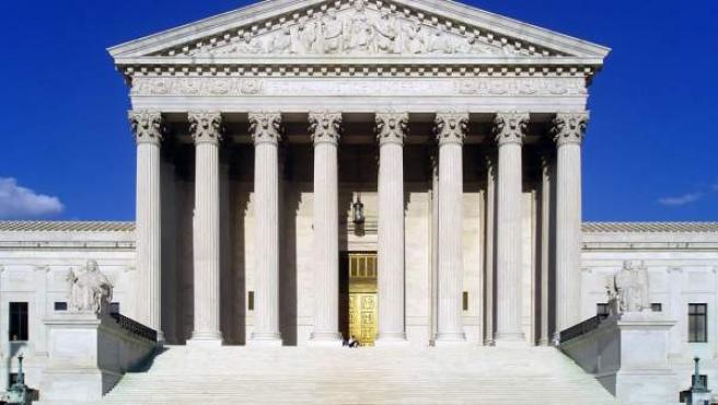 Imagen de la fachada de la sede del Tribunal Supremo de Estados Unidos.