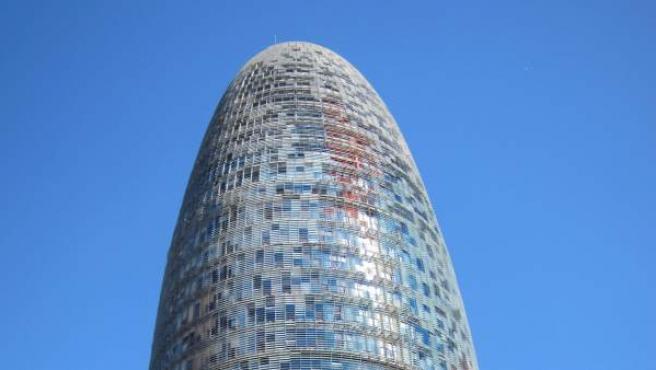 La antigua sede de Agbar en Barcelona.