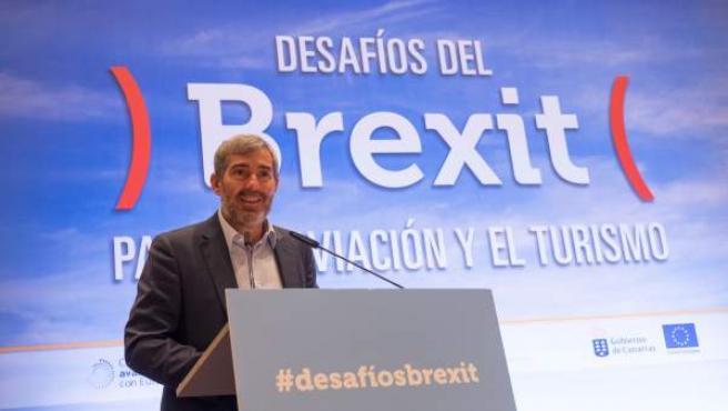 Inauguración De Las Jornadas Sobre 'Los Desafíos Del Brexit Sobre La Aviación Y