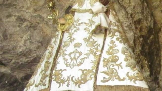 Virgen De Covadonga, La Santina
