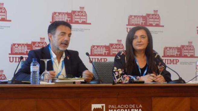 Miguel Lorente Y Nuria Valero En La UIMP