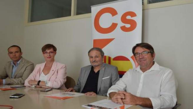 José Luis Osorio, Àngeles Ribes, Daniel Rubio y José María Córdoba