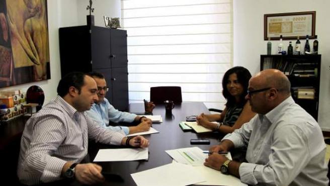 Reunión con la Asociación de Empresas de Alojamientos Turísticos de Jaén