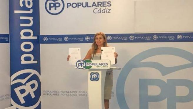 La parlamentaria popular Teresa Ruiz-Sillero