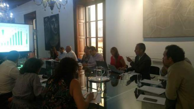 Reunión del Comité de Desarrollo de Rutas Aéreas del Aeropuerto de Palma